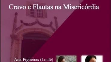 """Concerto """"Cravo e Flautas na Misericórdia"""""""